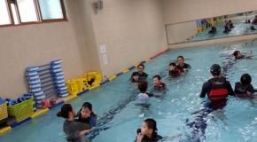 한국 선진학교 연계 생존수영 수업 소식 전합니다.